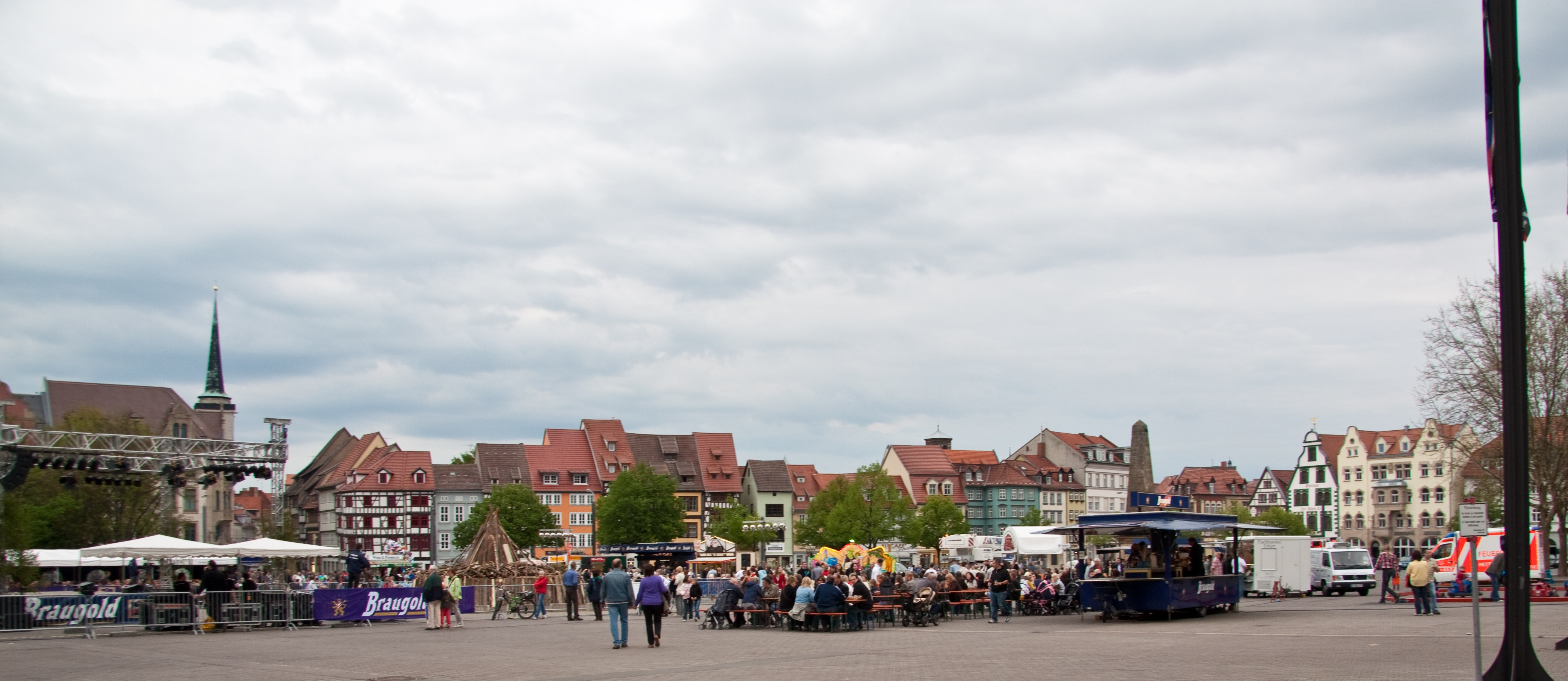 Walpurgisnacht in Erfurt 2010
